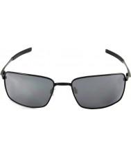 Oakley 黒イリジウムサングラス -  Oo4075-01角線は黒を研磨しました