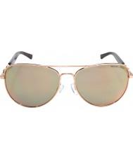 Michael Kors Mk1003 58フィジーは金1003r5サングラスをバラ