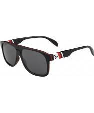 Cebe シカゴ黒赤1500グレーフラッシュミラーサングラス