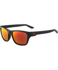 Cebe ハッカーマットグレー1500グレーフラッシュミラーオレンジ色のサングラス