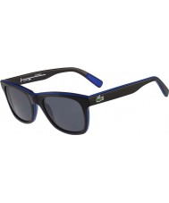 Lacoste 黒、青偏光サングラスL781sp