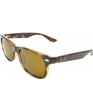 RayBan Junior 47新しい旅人光沢のあるハバナ152-3サングラスをRj9052s