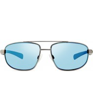 Revo Re1018レイスのガンメタル - 青い水偏光サングラス