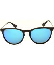 RayBan Rb4171 54エリカ黒601から55青はサングラスをミラー化