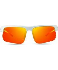 Revo Re1025カスプsの白 - 太陽オレンジ偏光サングラス