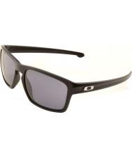 Oakley Oo9262-01スライバマットブラック - グレーサングラス