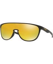 Oakley 黒Oo9318-06 trillbeマット -  24Kイリジウムサングラス