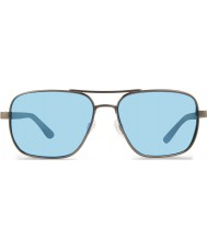 Revo Re1012フリーマンガンメタル - 青い水偏光サングラス