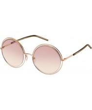 Marc Jacobs レディースは11-sのTXA 05金茶色のサングラスをMARC