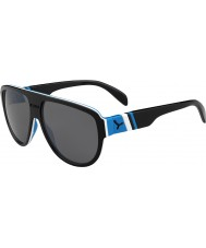 Cebe マイアミ黒青1500グレーフラッシュミラーサングラス