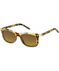 Marc Jacobs マルク17-sのU63 VOハバナゴールドサングラス