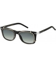 Marc Jacobs マルク17-sのZ07ウルパラジウム黒のサングラス
