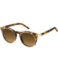 Marc Jacobs マルク18-sのu6j ZXハバナゴールドサングラス