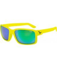 Cebe デュードネオン黄緑色のサングラス