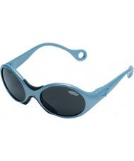 Cebe 1973(年齢1-3)光沢のある金属製の淡いブルーの2000グレーのサングラス