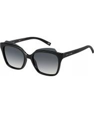 Marc Jacobs レディースは、106-SのD28の90光沢のある黒いサングラスをMARC