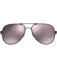 Oakley Oo4119-05エルモントmとリットルのマットブラック -  Prizmでの毎日の偏光サングラス