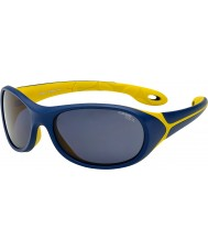 Cebe シンバ(年齢5-7)夜、青、黄色のサングラス