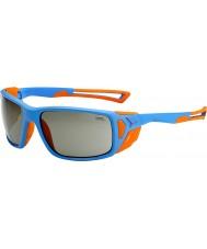 Cebe Proguideマットブルー、オレンジvariochromピークサングラス