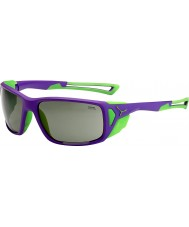 Cebe Proguide紫緑variochromピークサングラス