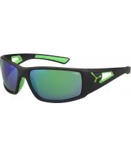 Cebe セッション黒緑1500グレーミラーグリーンサングラス
