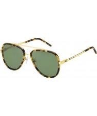 Marc Jacobs メンズ絞りかす136-S LSH DJはハバナゴールドサングラスを発見しました
