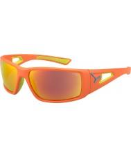 Cebe セッションオレンジライム1500グレーミラーオレンジサングラス