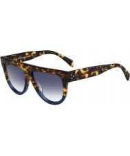 Celine レディースは41026-S fu9 DVカメ青いサングラスををクリア