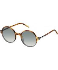 Marc Jacobs メンズ絞りかす48-sのTMVのVKはハバナグレーサングラスを網掛けスポッティング