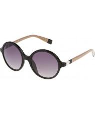 Furla レディースロラsu4966-700y光沢のある黒のサングラス
