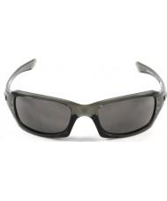 Oakley 暖かいグレーサングラス -  Oo9238-05ファイブは灰色の煙を乗