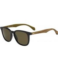 HUGO BOSS メンズボス0843-S RBG EC黒茶色のサングラス