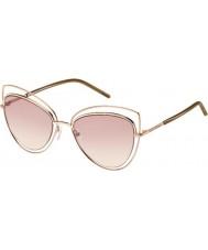 Marc Jacobs レディースは、8秒TXA 05金茶色のサングラスをMARC