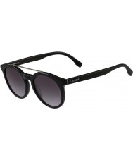 Lacoste L821s黒いサングラス