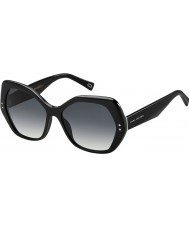 Marc Jacobs レディース絞りかす117-S 807 90黒のサングラス