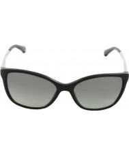 Emporio Armani Ea4025 55近代的な黒501711サングラス