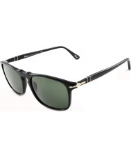 Persol 54 SUPREMA黒95から31サングラスをPo3059s
