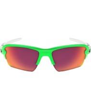 Oakley Prizmでフィールドサングラス -  2.0 XLに緑のフェードを非難Oo9188-43
