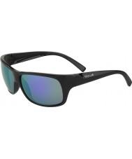 Bolle バイパーマットブラック青紫色のサングラス