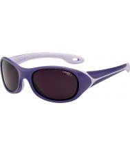 Cebe フリッパー(年齢3-5)紫色のサングラス