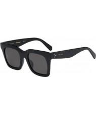 Celine レディースは41411-FS 807 NR黒いサングラスををクリア