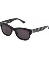 Zadig and Voltaire レディースszv051v-700光沢のある黒のサングラス