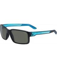Cebe デュードマットブラッククリスタルブルーのサングラス