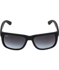 RayBan Rb4165 55ジャスティンゴム黒601〜8グラムサングラス