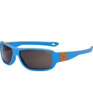 Cebe Scrat(年齢7-10)マットブルー、オレンジ色のサングラス