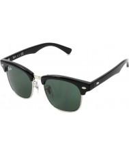 RayBan Junior Rj9050s 45 CLUBMASTER黒100から71サングラス