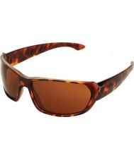 Cebe トレッカー光沢のあるべっ甲1500茶色のサングラス