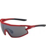 Bolle B-岩マット赤と黒のTNSガンサングラス