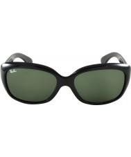 RayBan Rb4101 58ジャッキーは黒601サングラスをおお